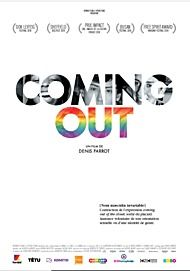 "Movie poster for ""COMING OUT"""