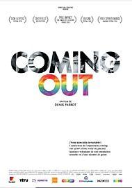 "Affiche du film ""COMING OUT"""