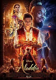 "Movie poster for ""ALADDIN"""