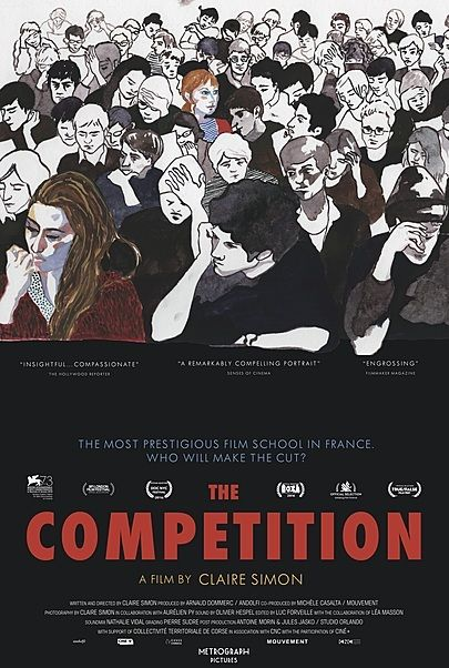 "Movie poster for ""THE COMPETITION"""