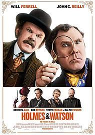 "Movie poster for ""HOLMES & WATSON"""