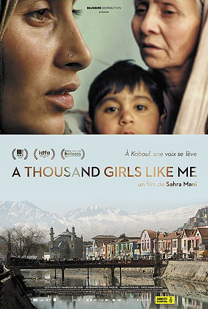 "Movie poster for ""A THOUSAND GIRLS LIKE ME"""