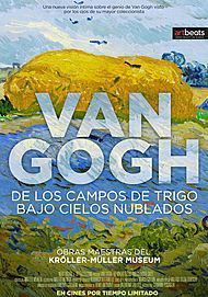 "Movie poster for ""VAN GOGH: TRA IL GRANO E IL CIELO """