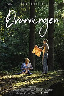 "Movie poster for ""DRONNINGEN"""