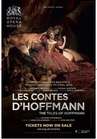 "Movie poster for ""LES CONTES D'HOFFMANN - ROYAL OPERA HOUSE"""