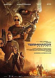 "Movie poster for ""TERMINATOR: DARK FATE"""