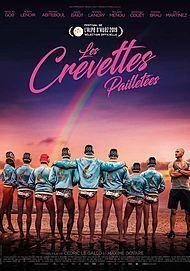 """Affiche du film """"LES CREVETTES PAILLETEES"""""""