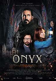 "Movie poster for ""ONYX, KINGS OF THE GRIAL"""