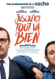 "Movie poster for ""JUSQU'ICI TOUT VA BIEN"""