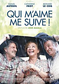 "Movie poster for ""QUI M'AIME ME SUIVE !"""