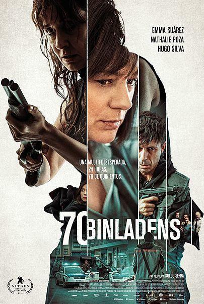 "Movie poster for ""70 BINLADENS"""