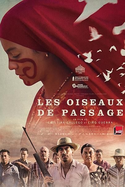 """Movie poster for """"BIRDS OF PASSAGE"""""""