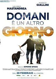 """Movie poster for """"DOMANI E UN ALTRO GIORNO"""""""