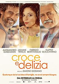 "Movie poster for ""CROCE E DELIZIA"""