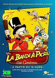 "Movie poster for ""LA BANDE A PICSOU AU CINEMA"""