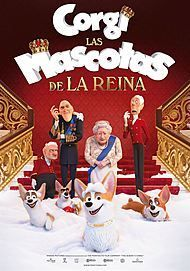 """Movie poster for """"THE QUEEN'S CORGI"""""""