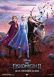 "Movie poster for ""FROZEN 2"""