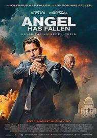 "Movie poster for ""ANGEL HAS FALLEN"""