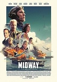 "Movie poster for ""MIDWAY"""