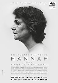 """Movie poster for """"HANNAH"""""""
