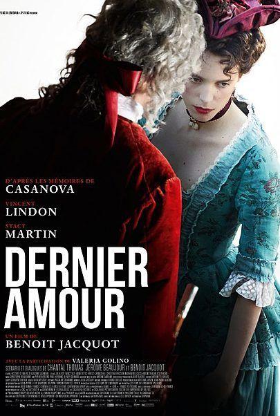 "Movie poster for ""CASANOVA, LAST LOVE"""