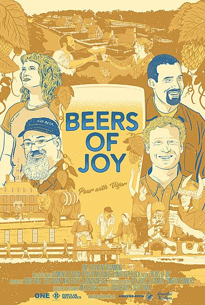 "Movie poster for ""BEERS OF JOY"""