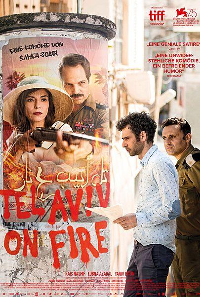 "Filmplakat für ""TEL AVIV ON FIRE"""