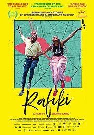 "Movie poster for ""RAFIKI"""