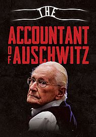 "Movie poster for ""THE ACCOUNTANT OF AUSCHWITZ"""