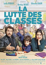"Movie poster for ""LA LUTTE DES CLASSES"""