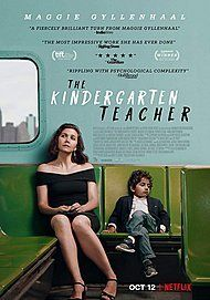 "Movie poster for ""THE KINDERGARTEN TEACHER"""