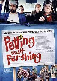 "Filmplakat für ""PETTING STATT PERSHING"""