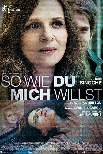 """Filmplakat für """"So wie du mich willst"""""""