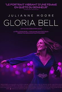 "Movie poster for ""GLORIA BELL"""