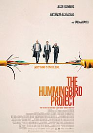 "Movie poster for ""THE HUMMINGBIRD PROJECT"""
