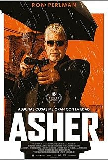 "Movie poster for ""ASHER"""