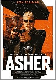 """Movie poster for """"ASHER"""""""