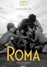 """Movie poster for """"ROMA"""""""