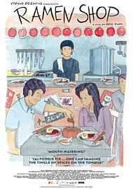 "Movie poster for ""RAMEN SHOP"""