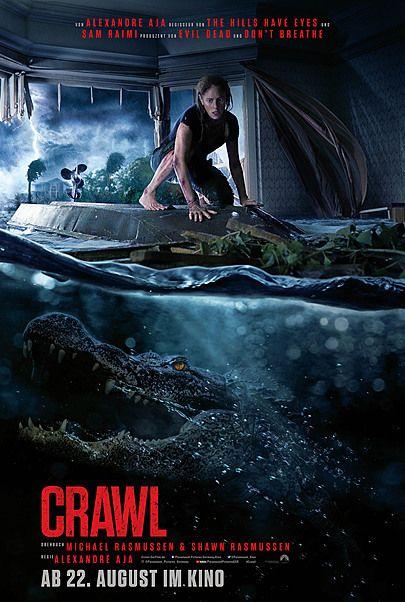 """Filmplakat für """"CRAWL"""""""