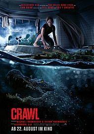 "Movie poster for ""CRAWL"""