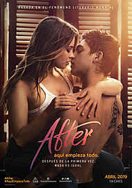 """Movie poster for """"AFTER"""""""