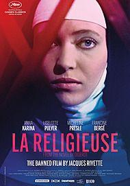 "Movie poster for ""LA RELIGIEUSE"""