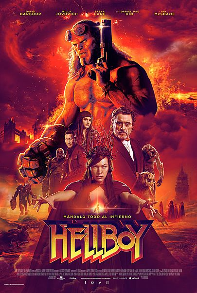 "Movie poster for ""HELLBOY"""