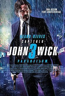 "Movie poster for ""JOHN WICK: CHAPTER 3 - PARABELLUM"""