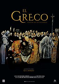 "Movie poster for ""EL GRECO - PINTOR DE LO INVISIBLE"""
