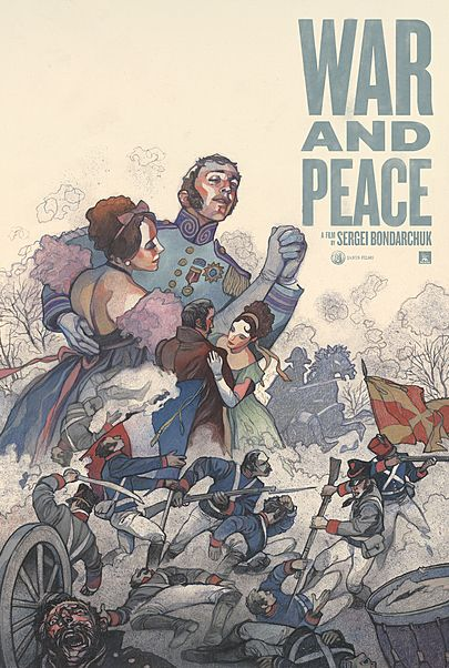 "Movie poster for ""WAR AND PEACE"""