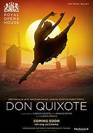 "Movie poster for ""DON QUIXOTE (ROYAL OPERA HOUSE)"""