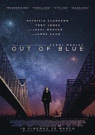 "Movie poster for ""OUT OF BLUE"""
