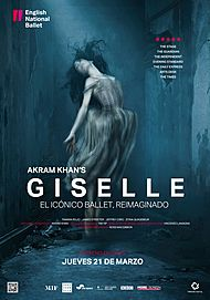 "Movie poster for ""GISELLE - ENGLISH NATIONAL BALLET"""
